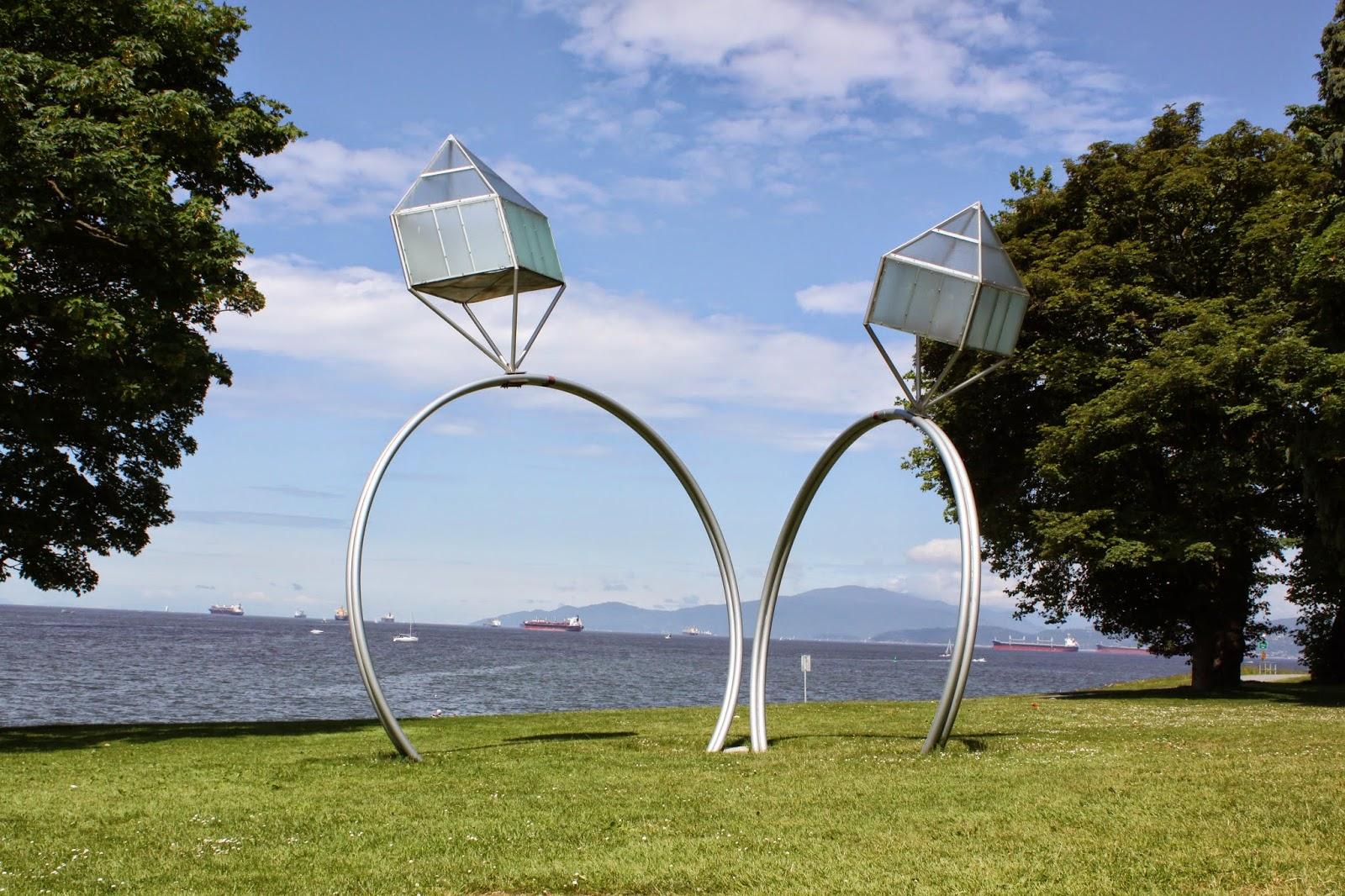 KEN的生活日記: [溫哥華Vancouver] 史丹利公園 Stanley Park 悠閒散步溜狗
