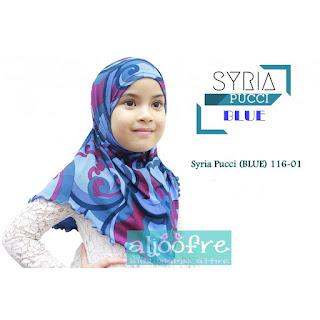 Tudung Syria Pucci