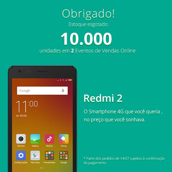 Quantos smartphones a Xiaomi vendeu no Brasil