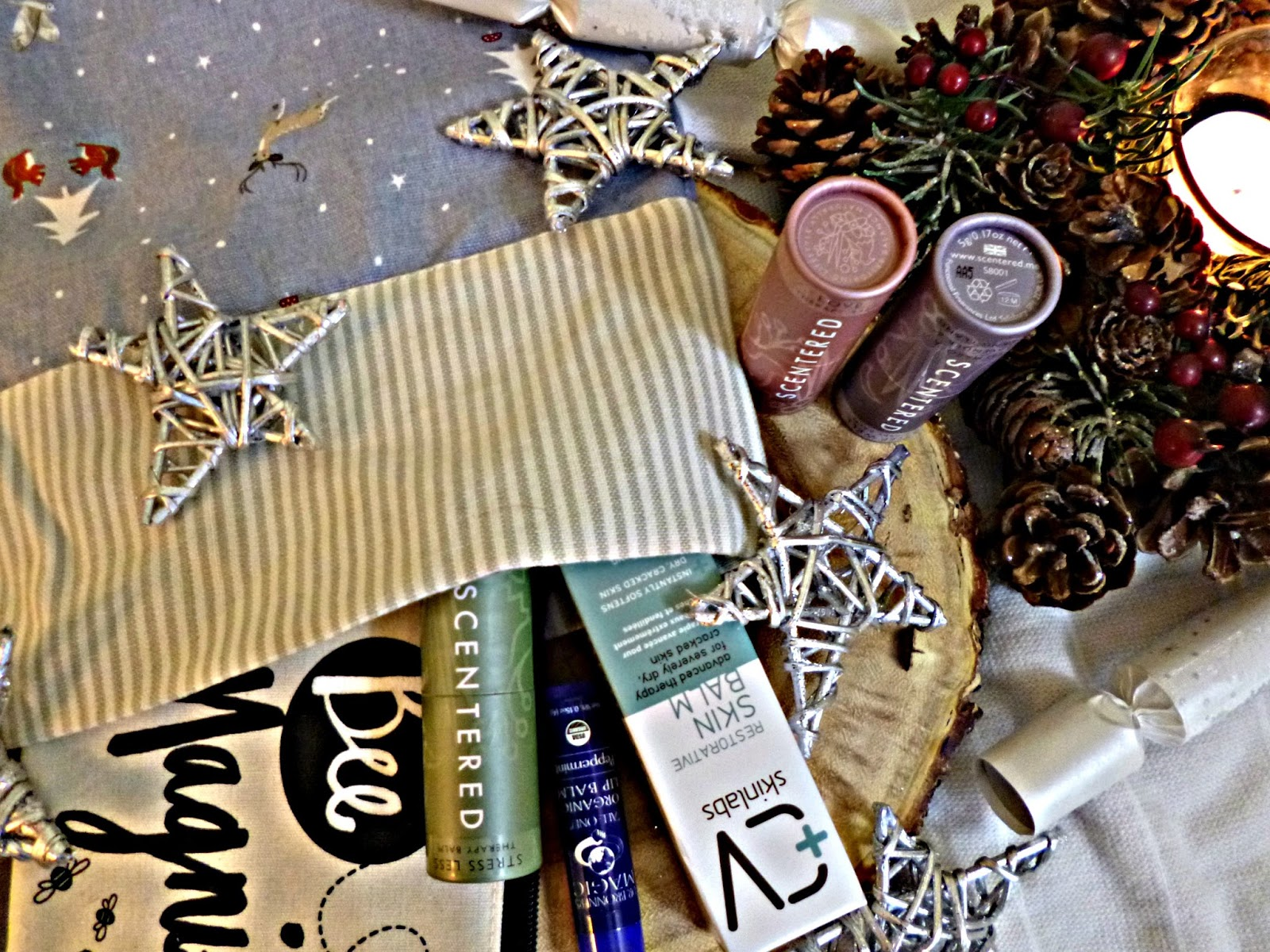 Green Beauty and lifestyle stocking filler ideas