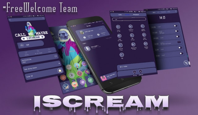 Tema MIUI - ISCREAM v2 MTZ