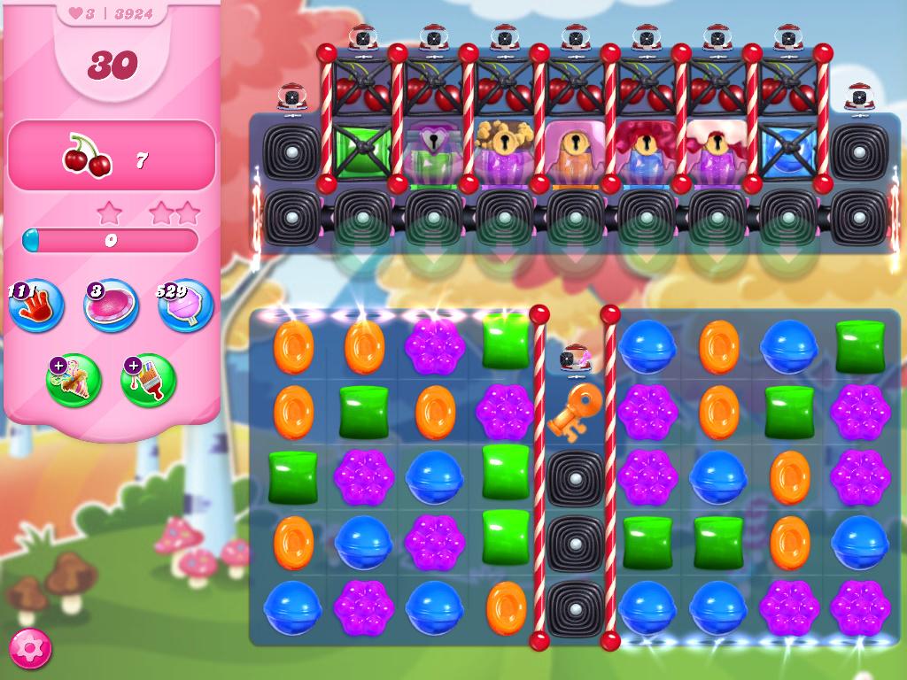 Candy Crush Saga level 3924