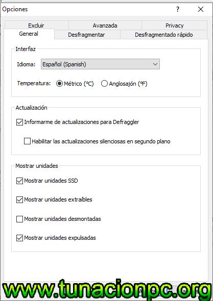 Defraggler con Licencia para Windows con Portable