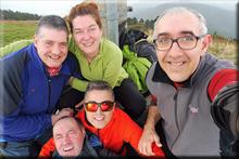 Jata mendiaren gailurra 598 m. - 2018ko otsailaren 25ean