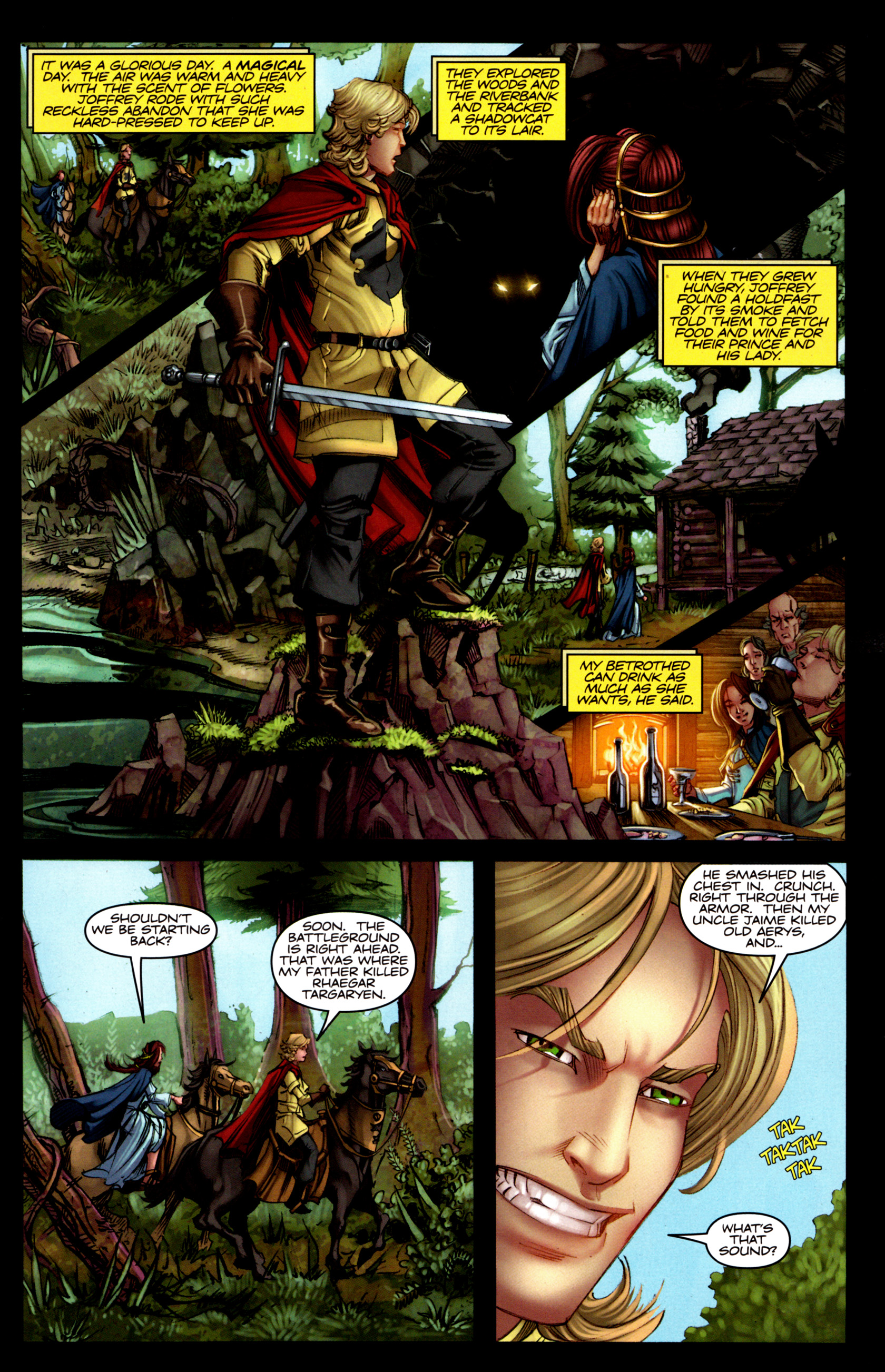 Read online A Game Of Thrones comic -  Issue #5 - 9