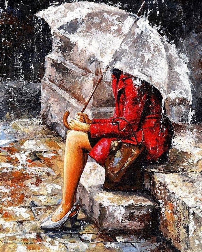 Венгерский художник. Imre Toth (Emerico)