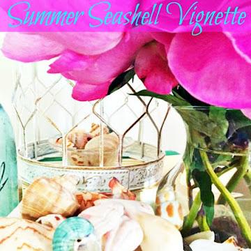 Summer Seashell Vignette