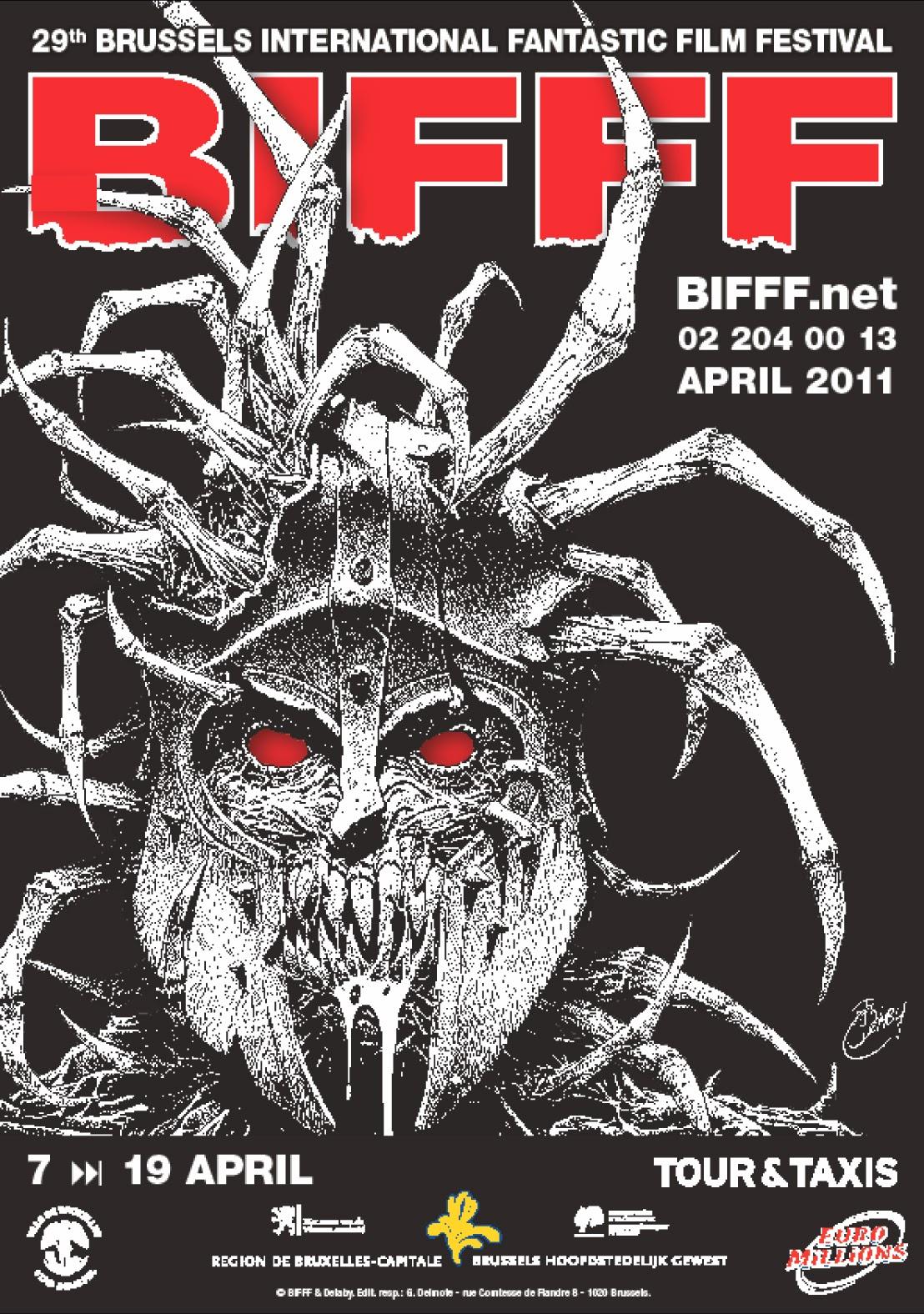 L'affiche du 29e BIFFF