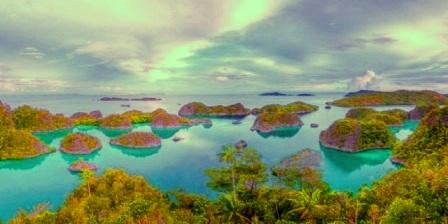 Kepulauan Raja Ampat, Papua Barat tempat wisata yg ada di indonesia tempat wisata di indonesia bagian timur tempat wisata di indonesia beserta keterangan tempat wisata di indonesia beserta gambarnya