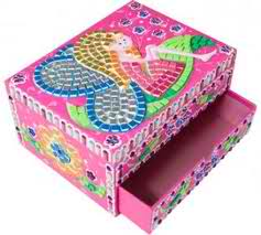 Jeweled Fairy Box
