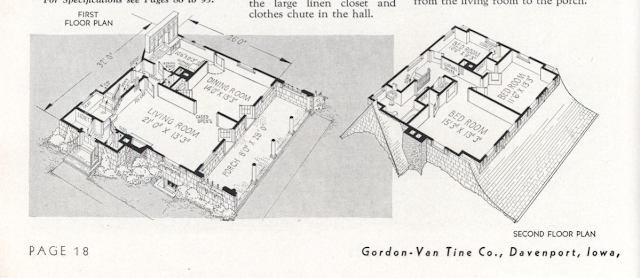 GVT Hudson floor plan GVT Columbia floor plan 1936