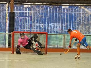 Hockey patines | Gurutzeta pierde tras remontar 5 goles encajados en cinco minutos de descontrol