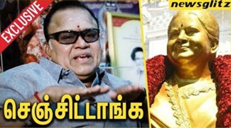 Radharavi at most funny interview about Jayalalitha's statue