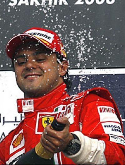 Oksana Domnina: Felipe Massa Ferrari Wallpaper With Bio