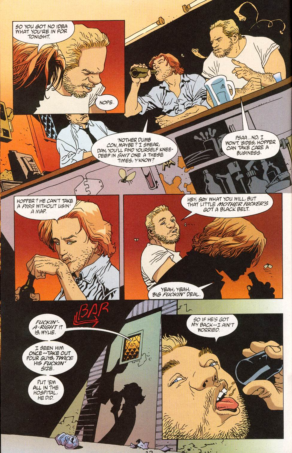 Read online 100 Bullets comic -  Issue #28 - 14