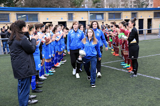 Homenaje del Pauldarrak a sus equipos benjamín y juvenil