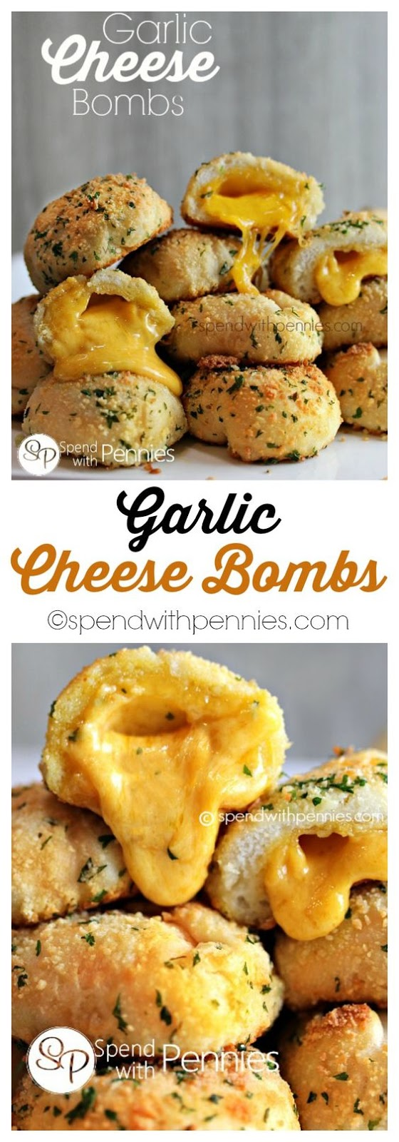 Garlic Cheddar Biscuits (Garlic Cheese Bombs)