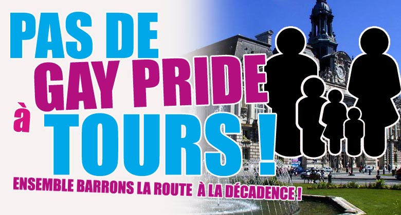 Pas de Gay Pride à Tours