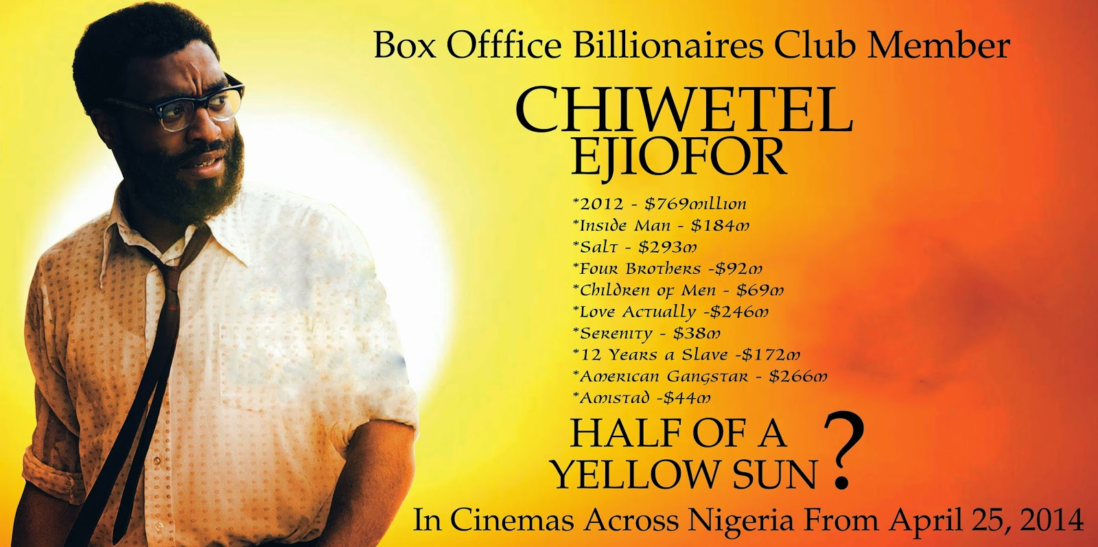 half of a yellow sun premiere nigeria