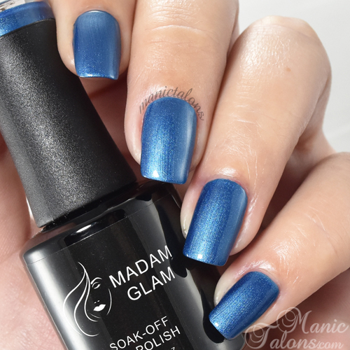 Madam Glam Gel True Blue Game Swatch