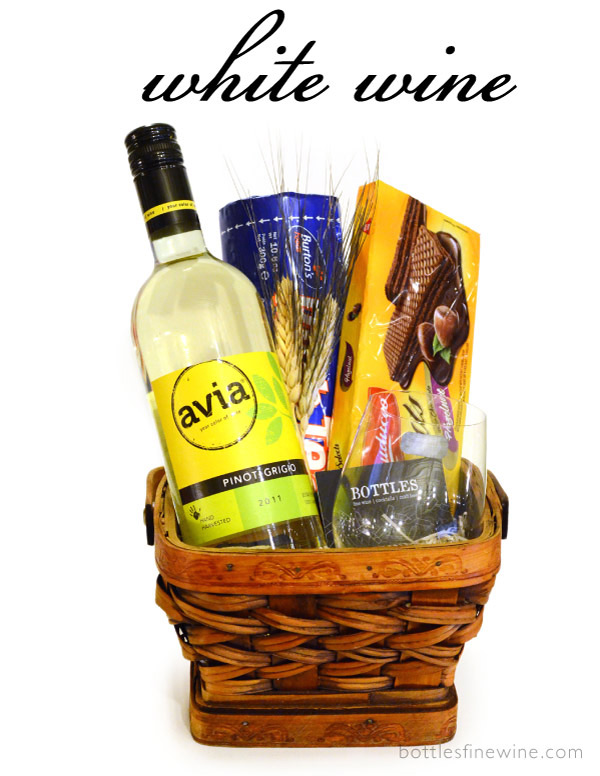 White Wine Gift Baskets RI