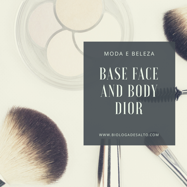 Base Face and Body Dior da realeza para o consumidor