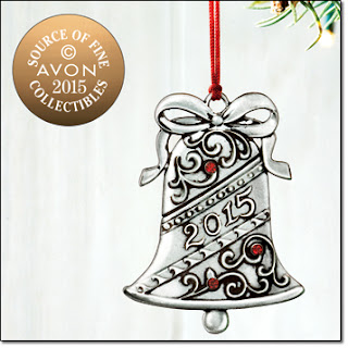 Avon Pewter Ornament 2015