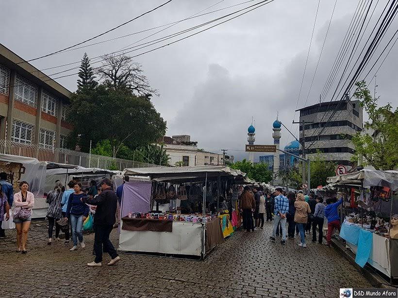 Feira do Largo da Ordem - O que fazer em Curitiba, Paraná