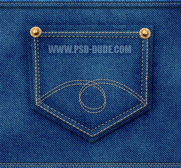 Как нарисовать джинсовую текстуру в Фотошопе