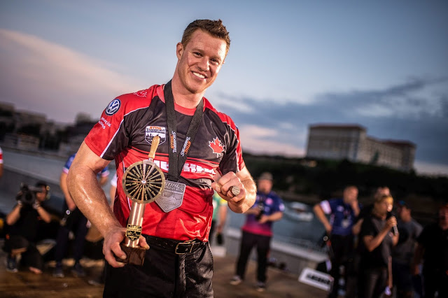 The Canadian Stirling Hart wins the Champions Trophy 2018