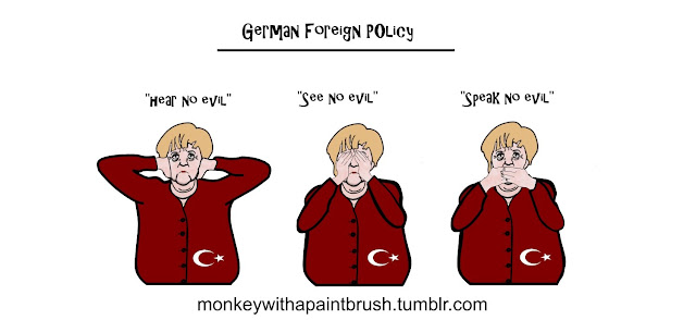 German foreign policy, Going Postal