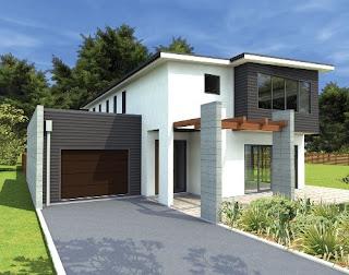 Bentuk Atap Rumah Minimalis 3
