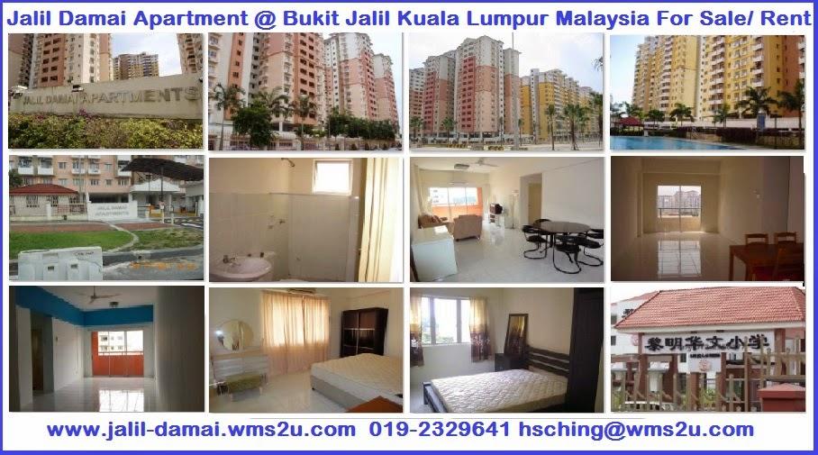 Jalil Damai Apartment At Bukit Kuala Lumpur Malaysia