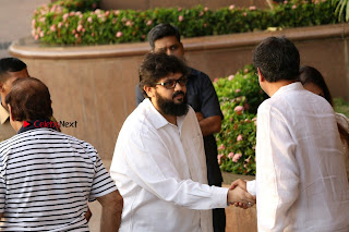 Actress Aishwarya Rai Father Prayer Meet Set 1  0015.JPG