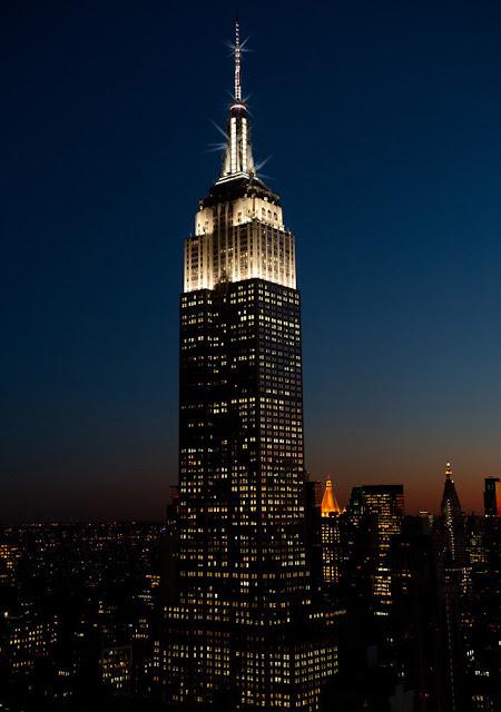 Edificio Empire State emitirá chispas en la cima cada hora #ESBsparkle