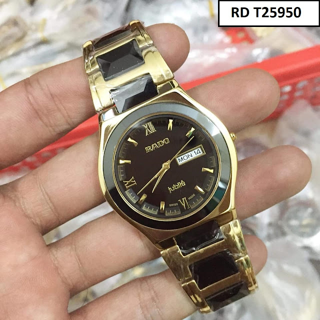 Đồng hồ nam Rado RD T25950 thiết kế tinh xảo, cao cấp, máy Nhật Bản