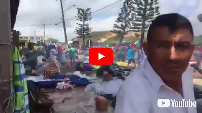 Brasileños expulsaron a los refugiados venezolanos de Pacaraima tras crimen contra comerciante