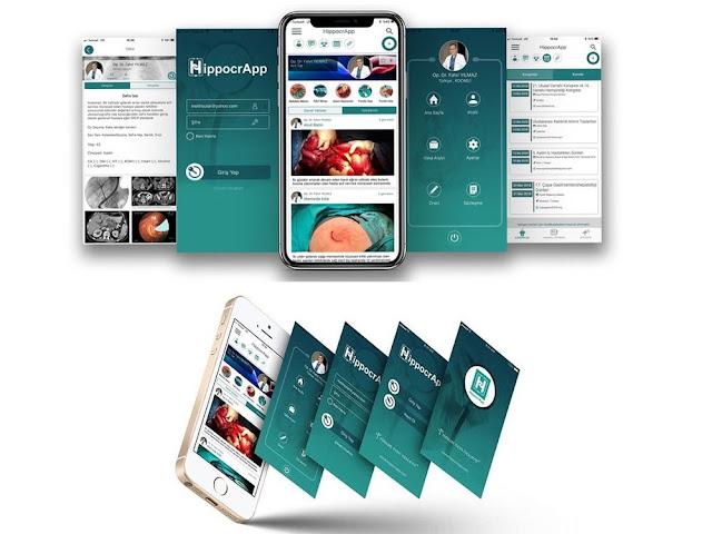 Doktorlar arasında iletişimi sağlayan uygulama: HippocrApp