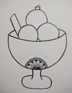 Doodle mandala art