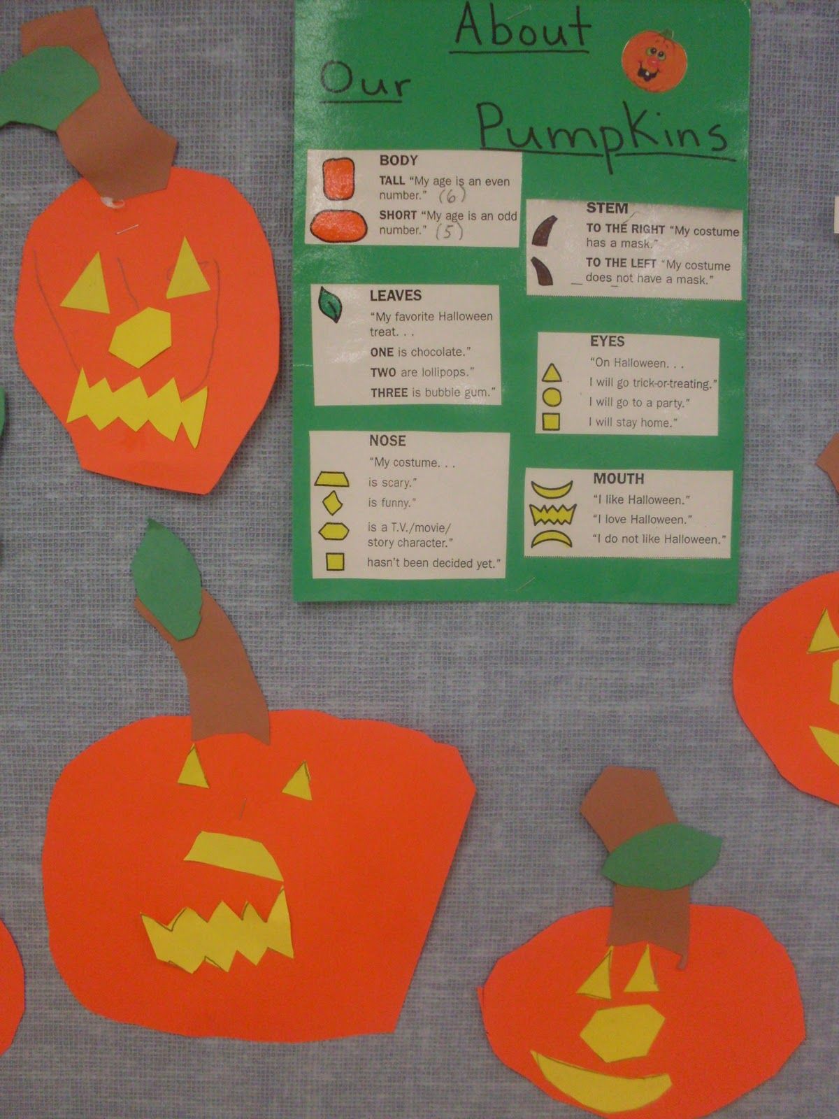 Kindergarten Days Fun Fall Activities
