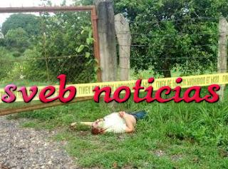 Identifican el cuerpo hallado ejecutado en Martinez de la Torre Veracruz