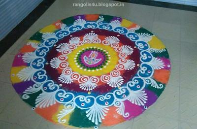 Deep Jyoti Rangolis