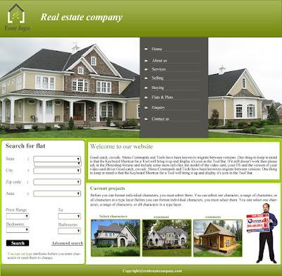 Thiết kế website bất động sản có một không hai