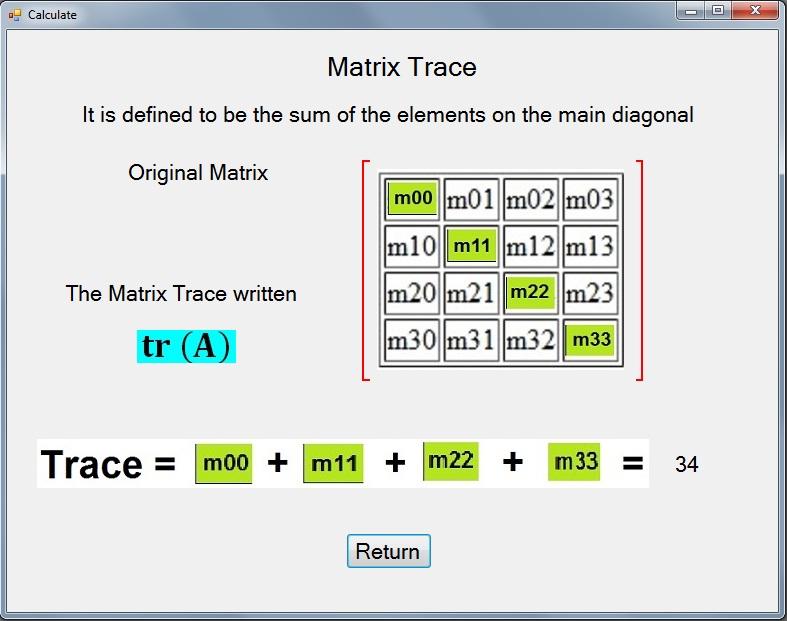 determinant 4x4 matrix c++ codes - FREE ONLINE