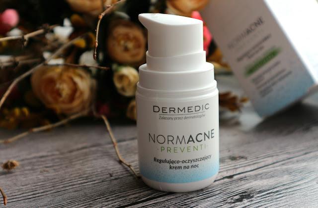 Dermedic Ночной регулирующий и очищающий крем
