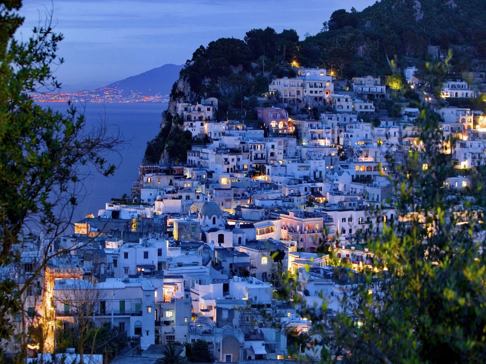 Travel adventures capri a voyage to capri naples - Naples italy wallpaper ...