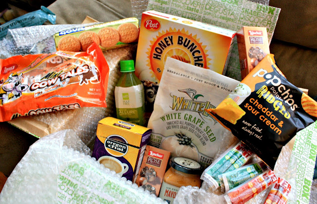 August Box from Degustabox Subscription Service featuring full size products.