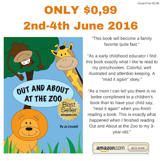 SALE: Out and About at the Zoo ONLY $0,99!