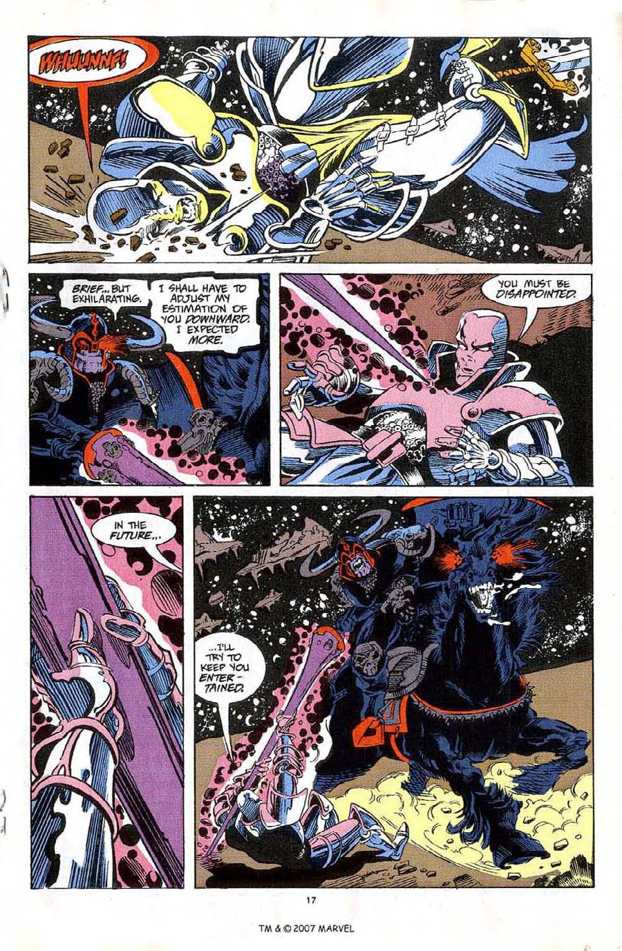 Read online Silver Surfer (1987) comic -  Issue #59 - 19