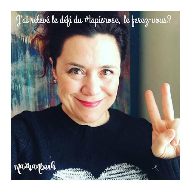 Une journée n'est pas une fête #tapisrose #girlpower